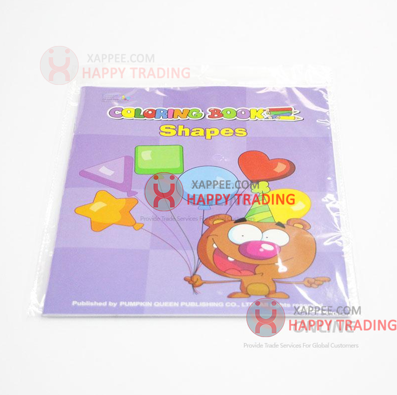 Wholesale Kids Coloring Book Of Shapes Drawing Books